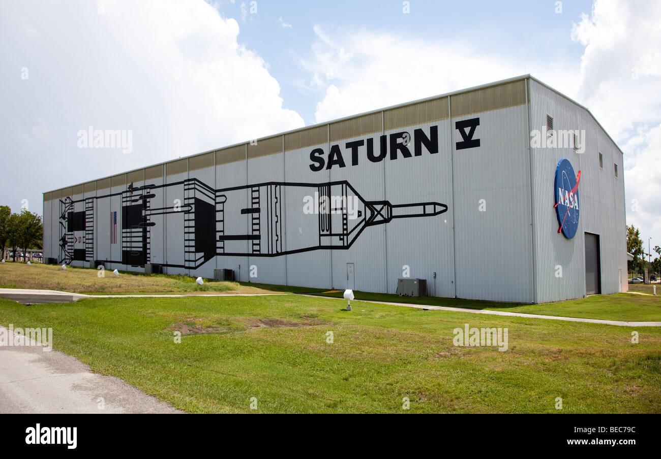 Saturn V building NASA Space Center Houston Texas USA ...