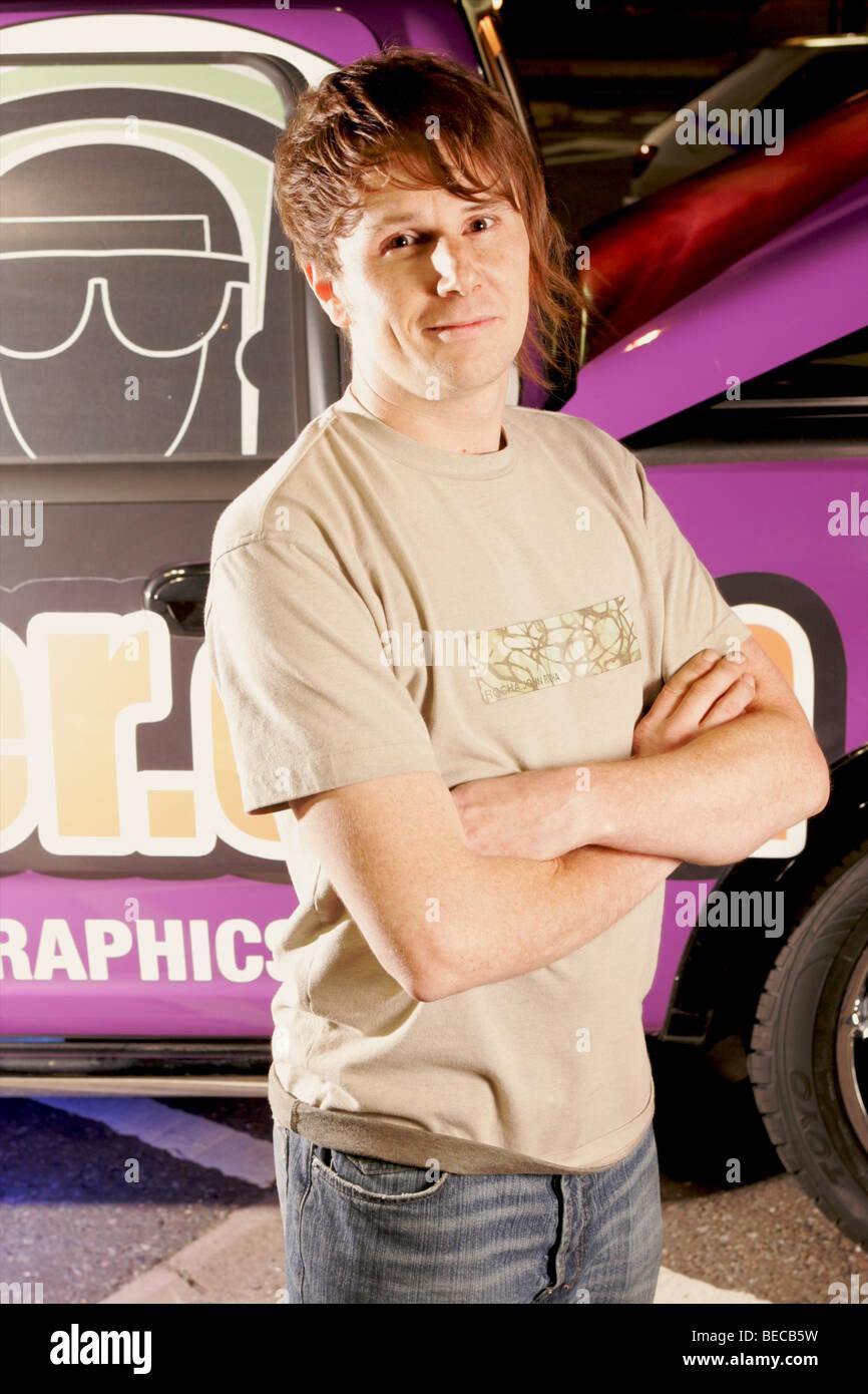 Jamie Shaw Of Uk Pimp My Ride Stock Photo, Royalty Free