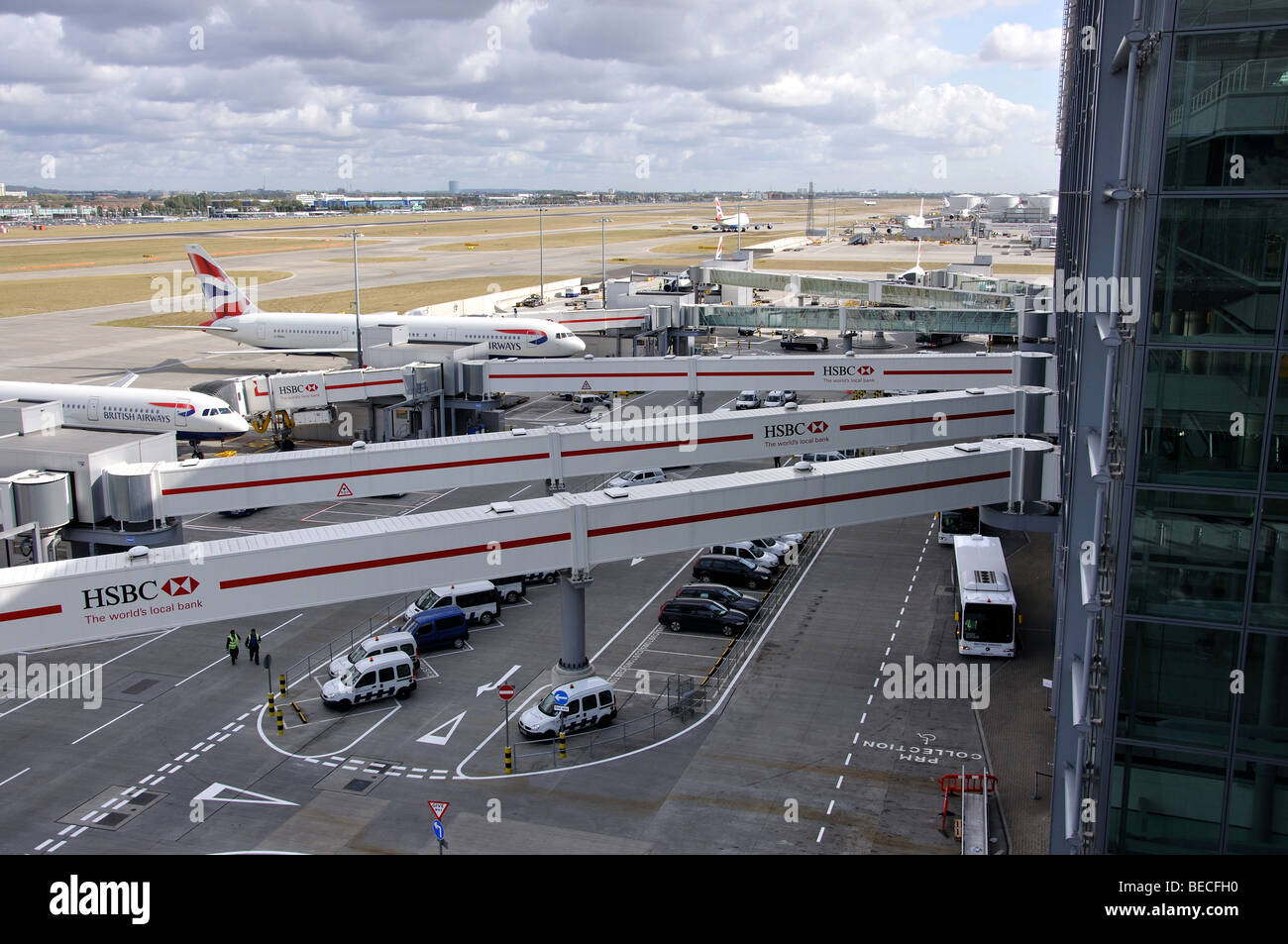 how to get from heathrow terminal 5 to central london