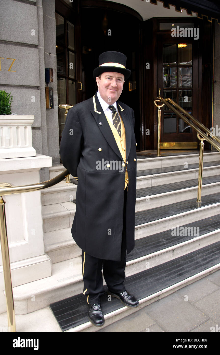 Doorman The Ritz Hotel London Piccadilly City of Westminster London England United Kingdom  sc 1 st  Pezcame.Com & Hotel Doorman u0026 Hotel Doorman.