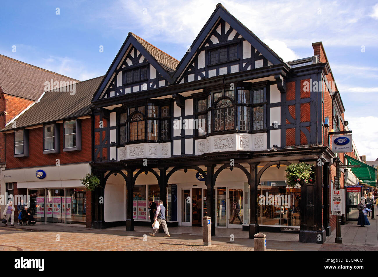 old english timbered houses with chemist u0027s tudor style lichfield
