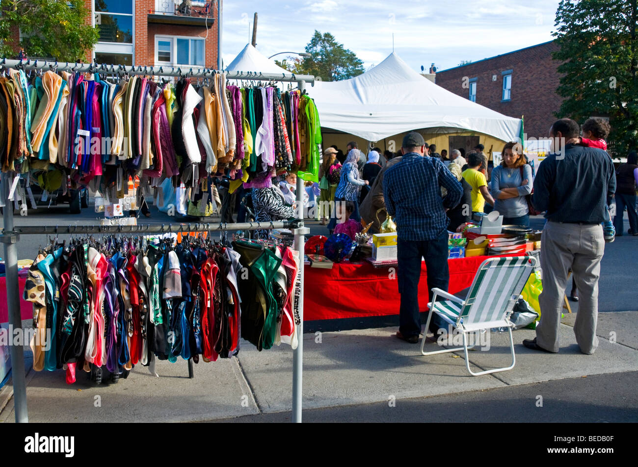 Sidewalk sale in the petit maghreb sector on jean talon for Meubles montreal jean talon