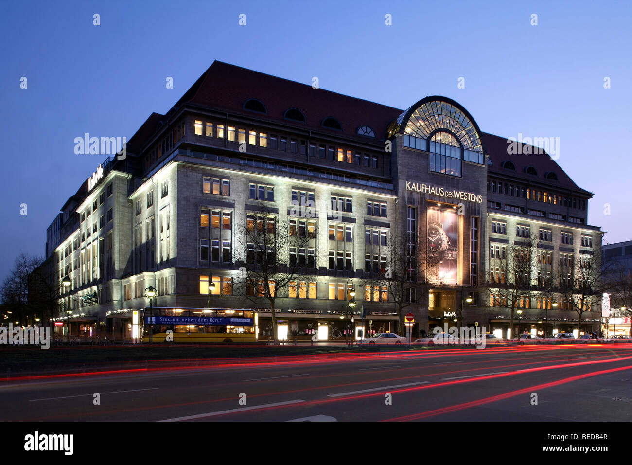 kaufhaus des westens kadewe department store berlin germany stock photo royalty free image. Black Bedroom Furniture Sets. Home Design Ideas