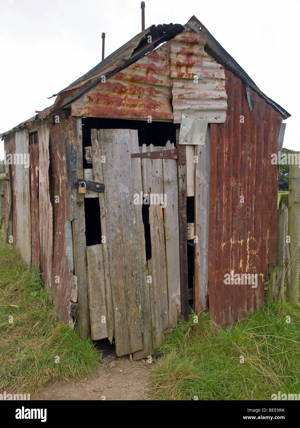 Old Tin Shed Stock Photo Royalty Free Image 26130599 Alamy