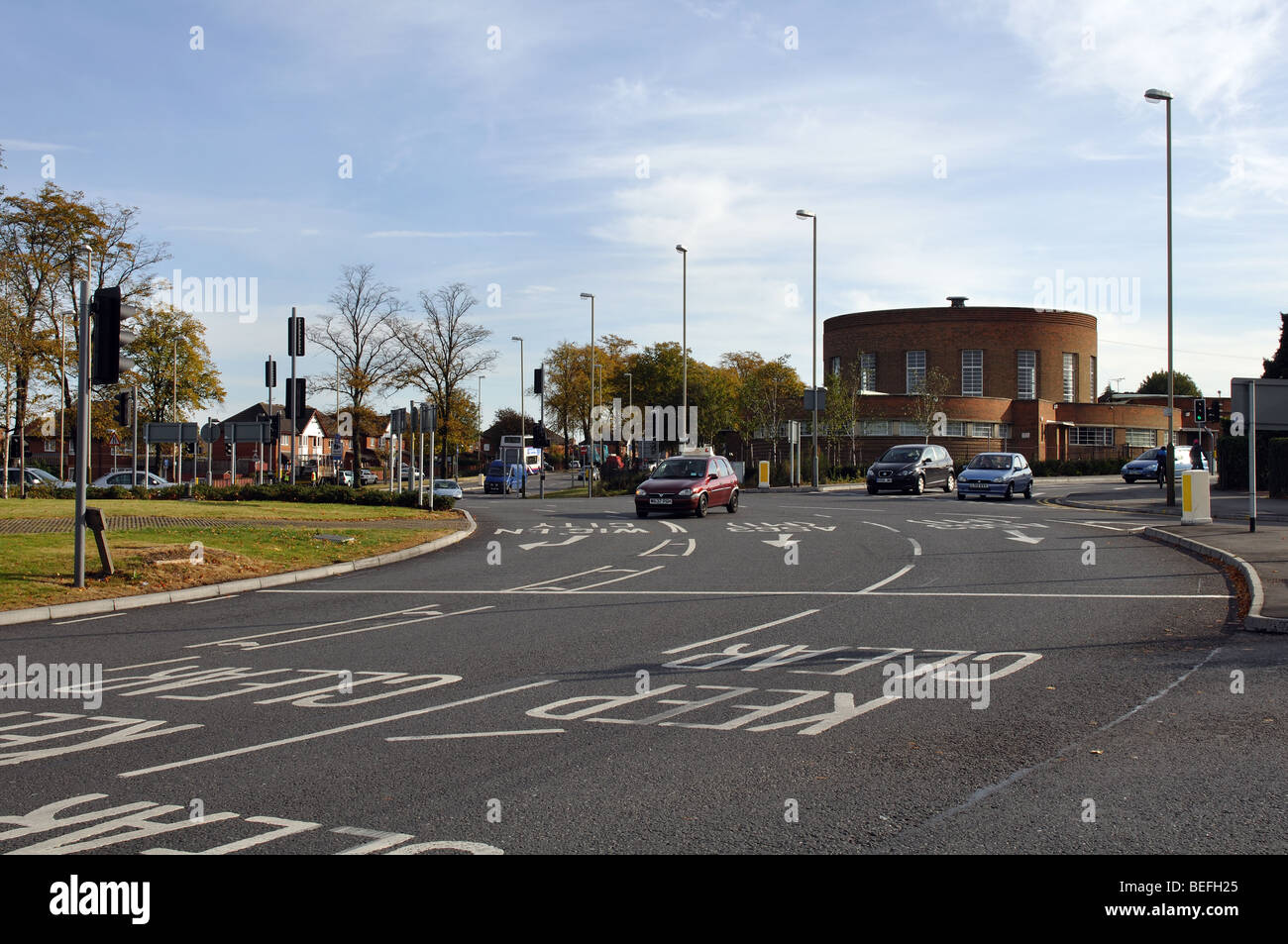 Ring Road Roundabout Leicester