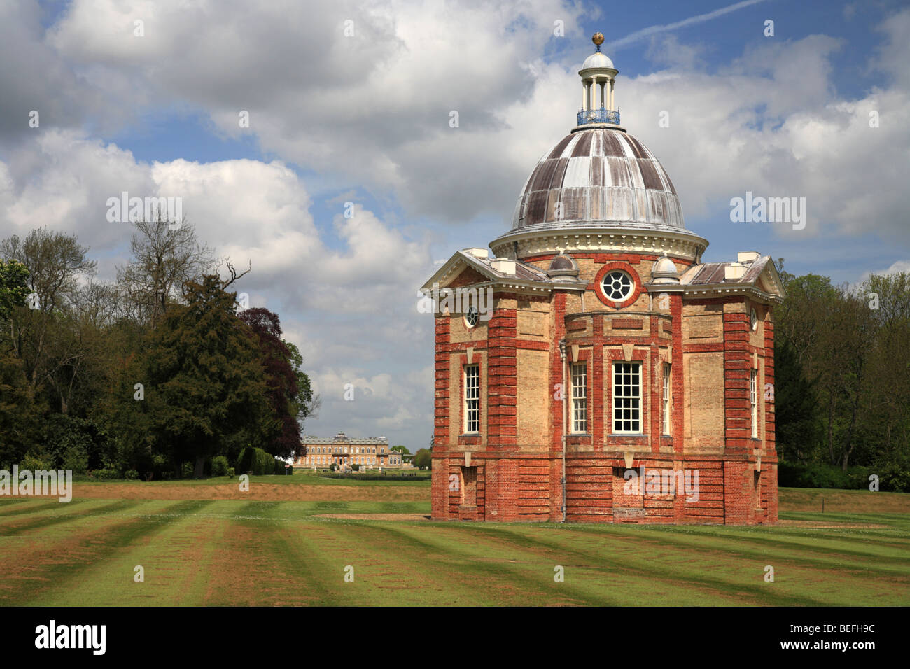 Wrest Park Summer House Stately Home Gardens English Heritage England UK