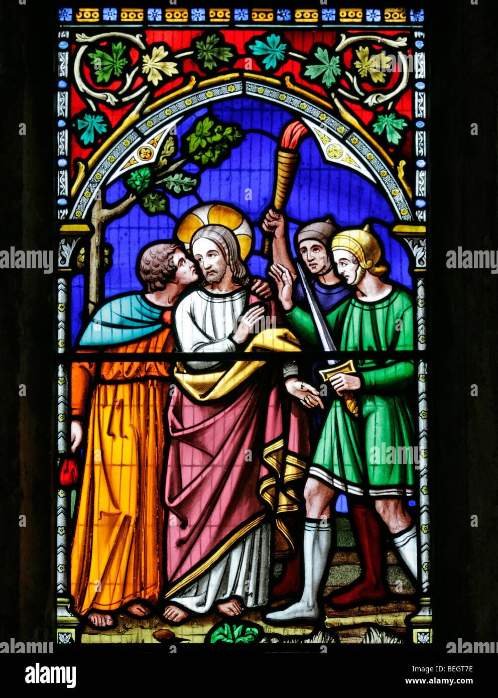 stained glass windows jesus