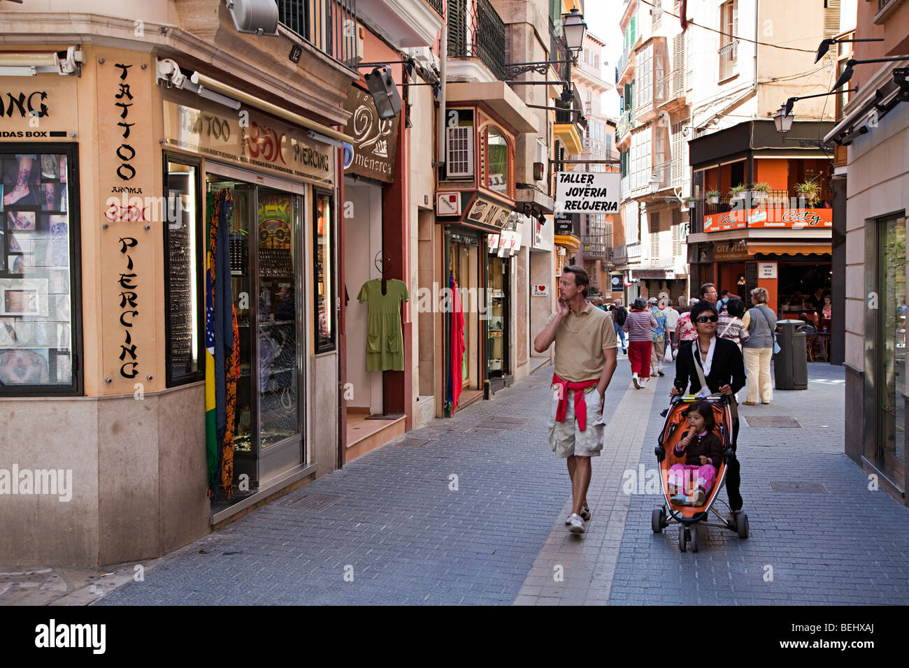 Palma city shopping