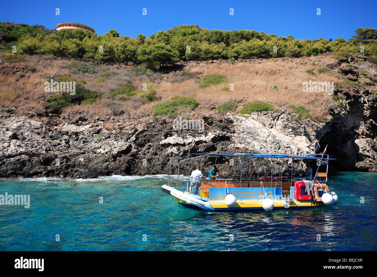 Ustica Italy  City pictures : Ustica Italy Sicily Sicily Italy Stock Photo