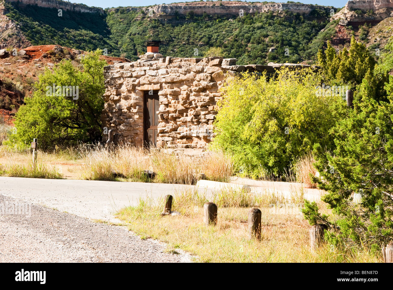 Cow Camp Cabin In Palo Duro Canyon State Park In Texas