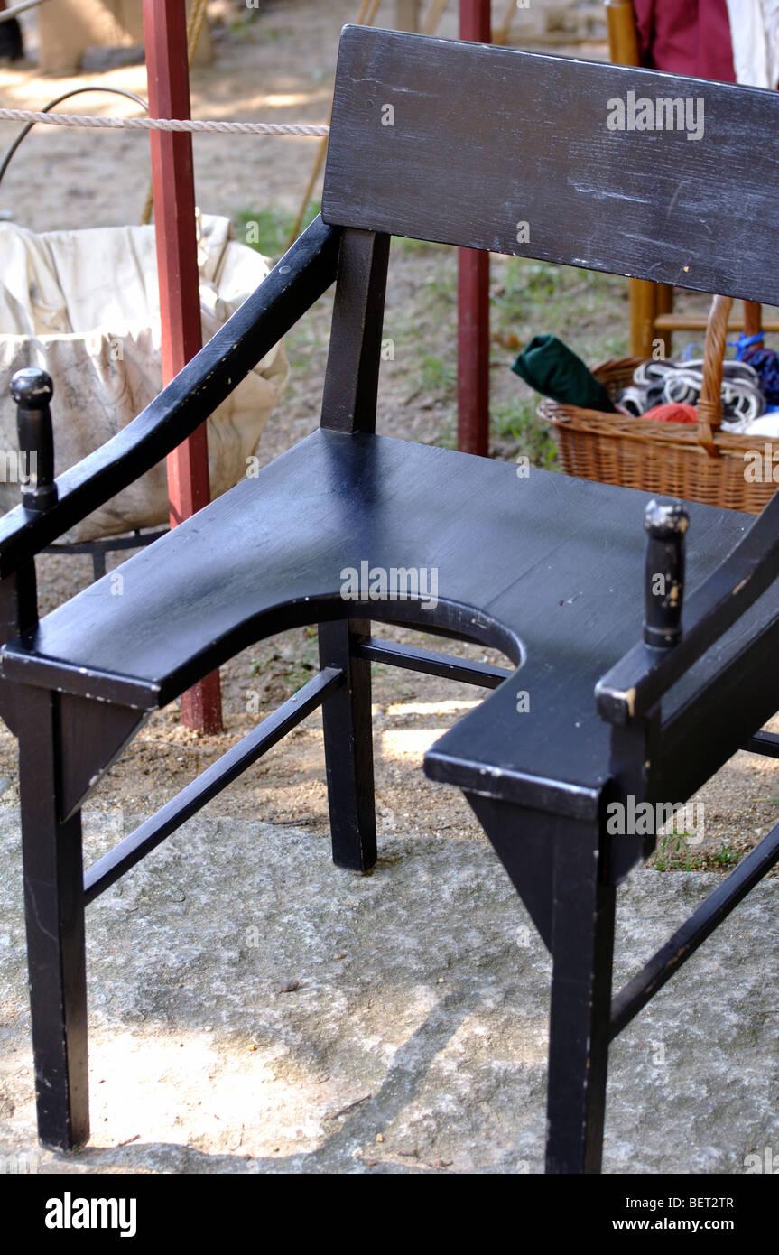 Antique birthing chair - Antique Birthing Chair
