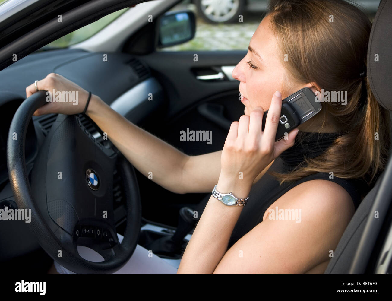 Driver With Mobile Teen 51