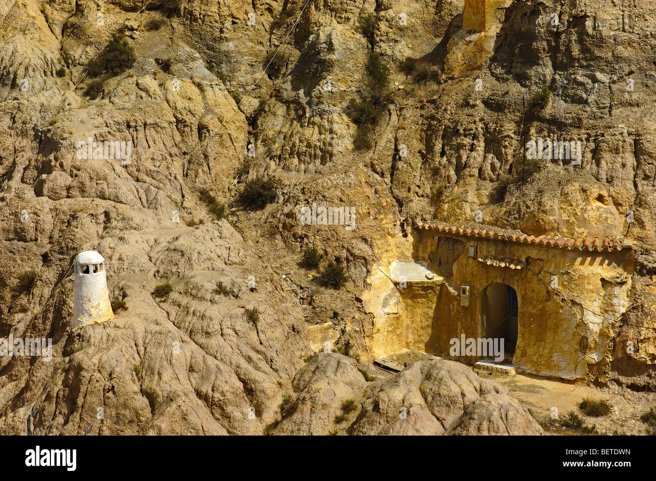 Cave House At Santiago Troglodyte Quarter Guadix