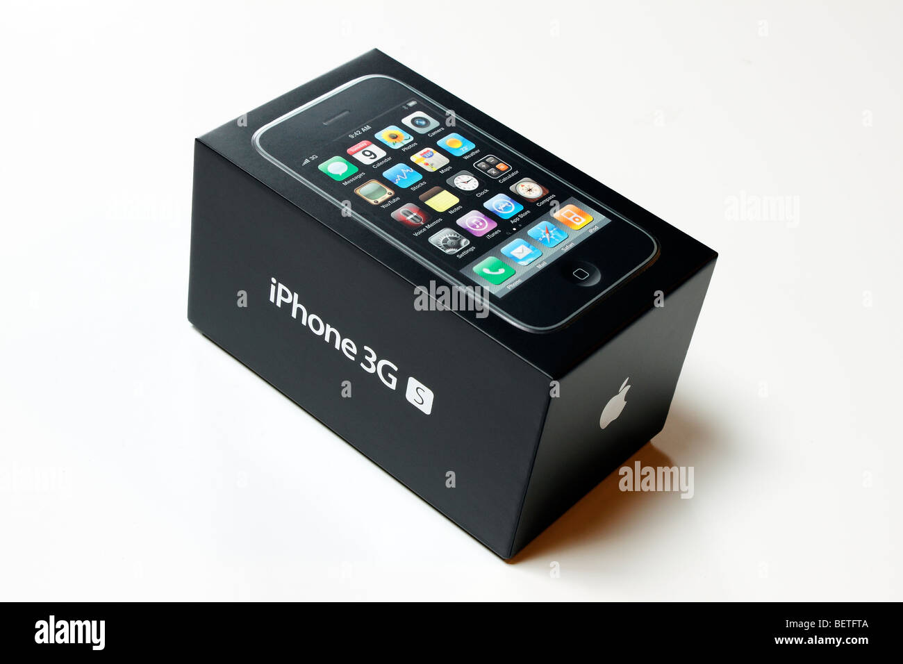 The Box Of The New IPhone 3G S Stock Photo Royalty Free Image