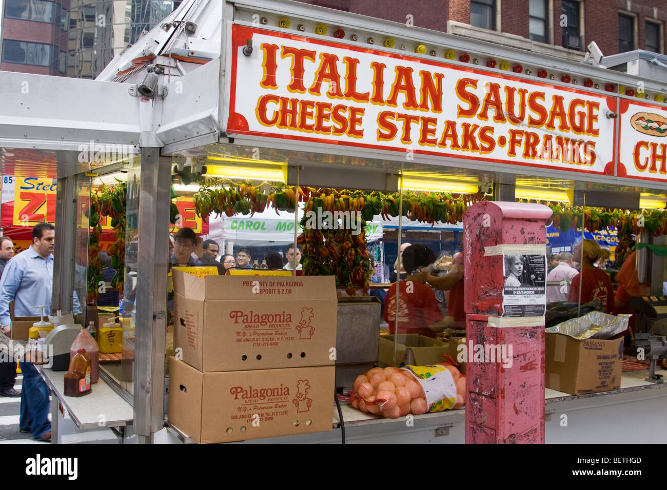 Fast Food Lower Manhattan