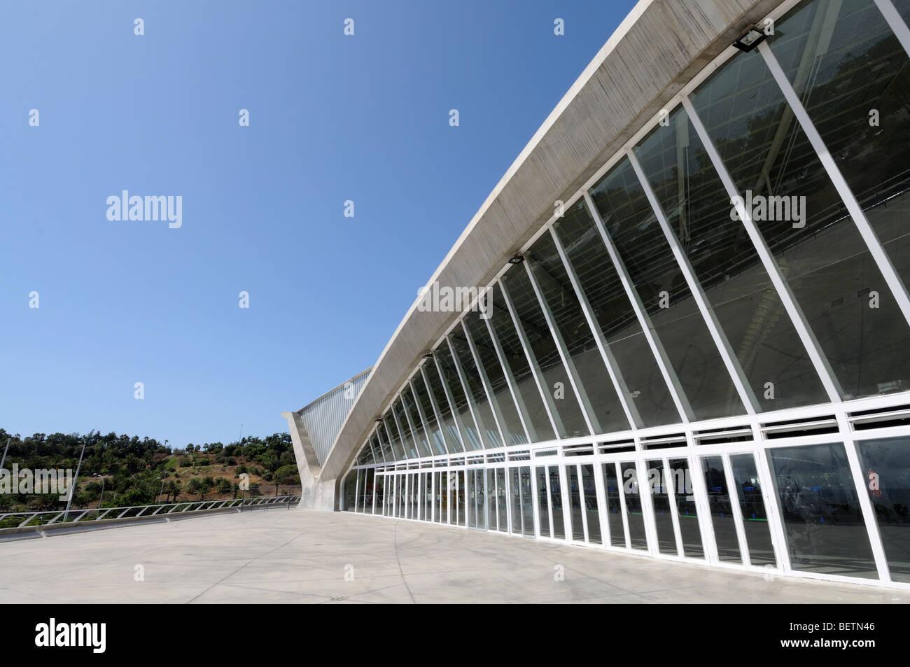 Modern Architecture Spain modern architecture in santa cruz de tenerife, canary islands