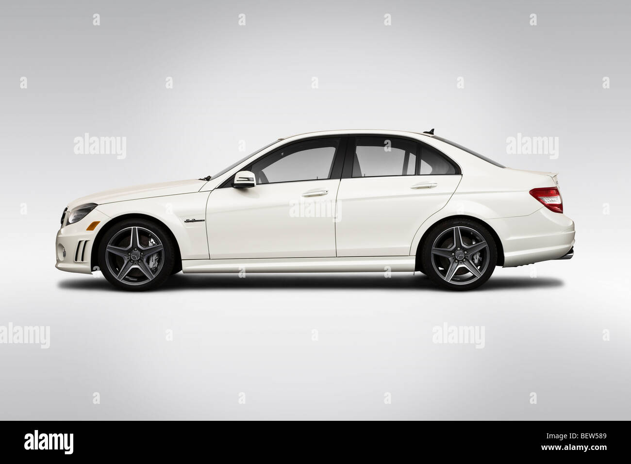 2010 mercedes benz c class c63 amg in white drivers side for Mercedes benz c class white