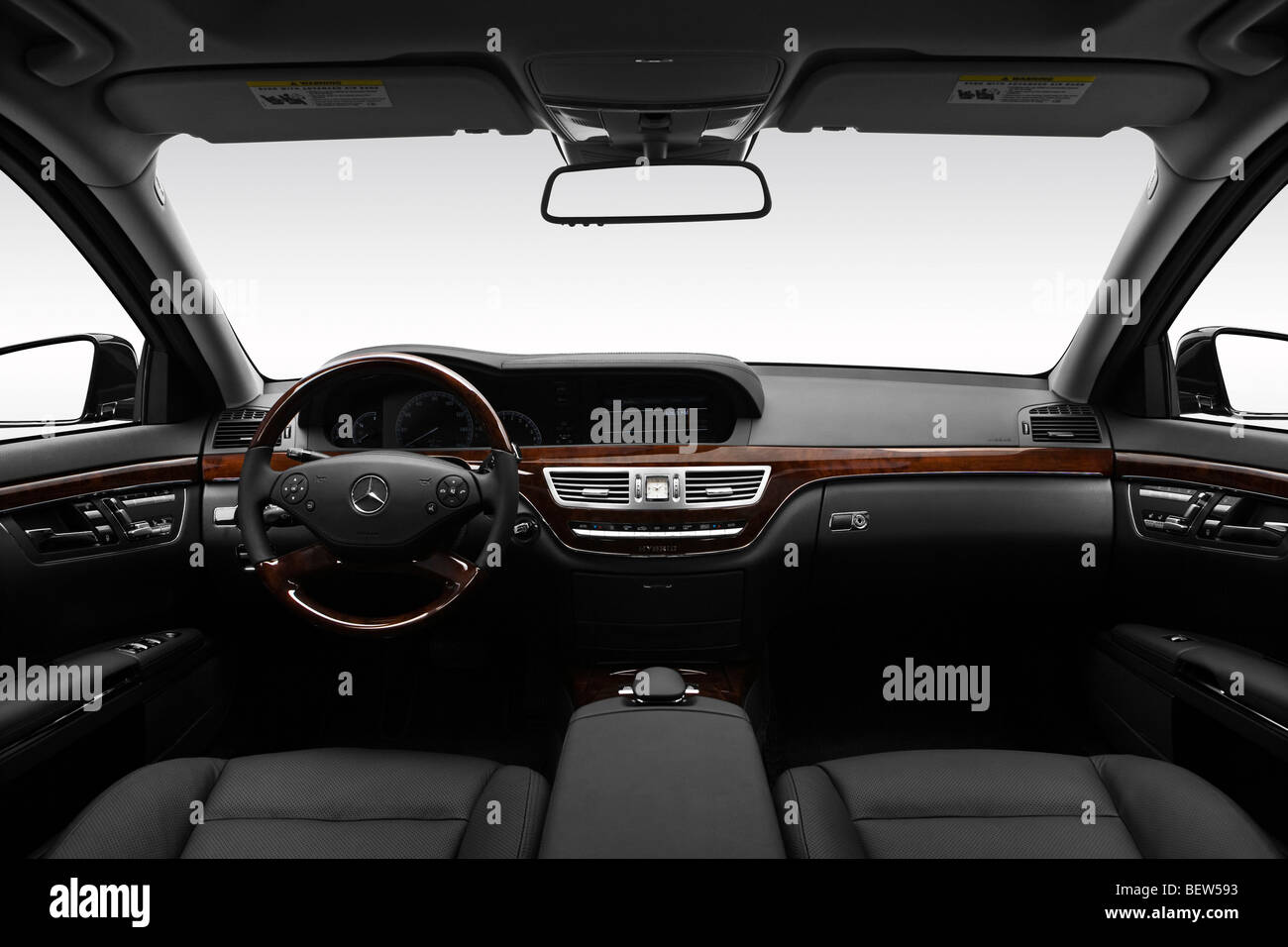 All Types 2010 s class : 2010 Mercedes-Benz S-Class Hybrid S400 in Black - Dashboard ...
