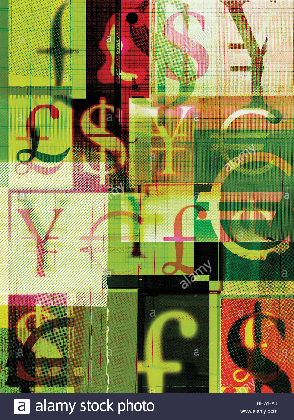 Collage of foreign currency symbols stock photo 26375626 alamy collage of foreign currency symbols buycottarizona