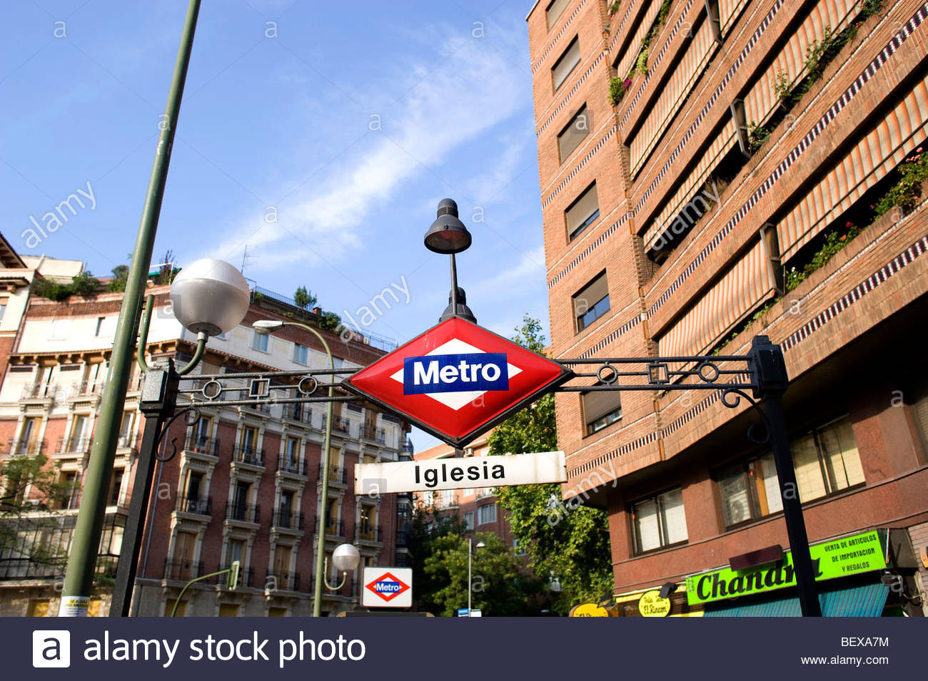 Madrid Subway Stock Photo, Royalty Free Image: 26394360 - Alamy