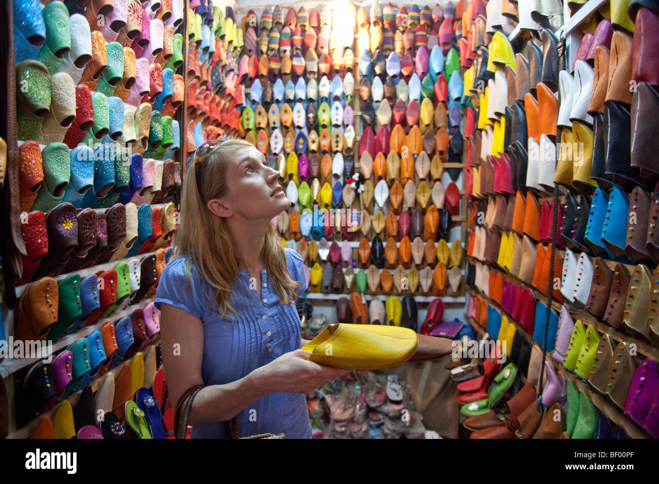 Buying Shoes In Morocco