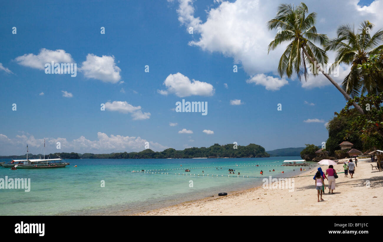 Raymen Beach Resort Alubihod Nueva Valencia Guimaras Island Stock Photo Royalty Free Image
