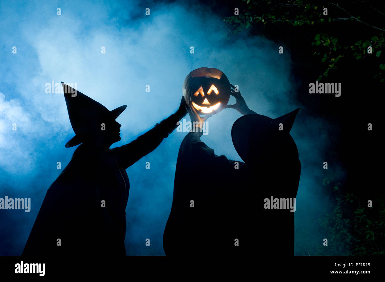 Halloween witches prepares to celebrate the Pagan new year and ...