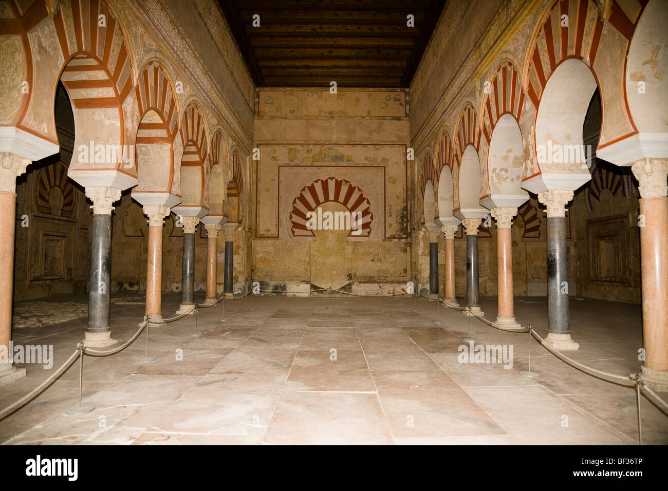 Spain,Andalusia, Madinat al-Zahra, Hall of Abd al-Rahman III