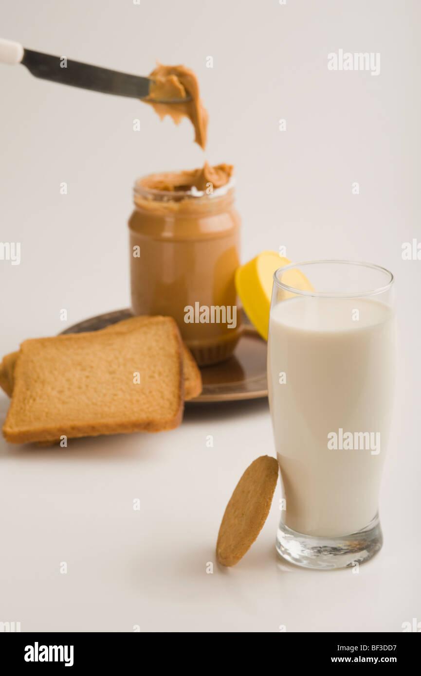 Peanut Butter Jar Stock Photos Peanut Butter Jar Stock