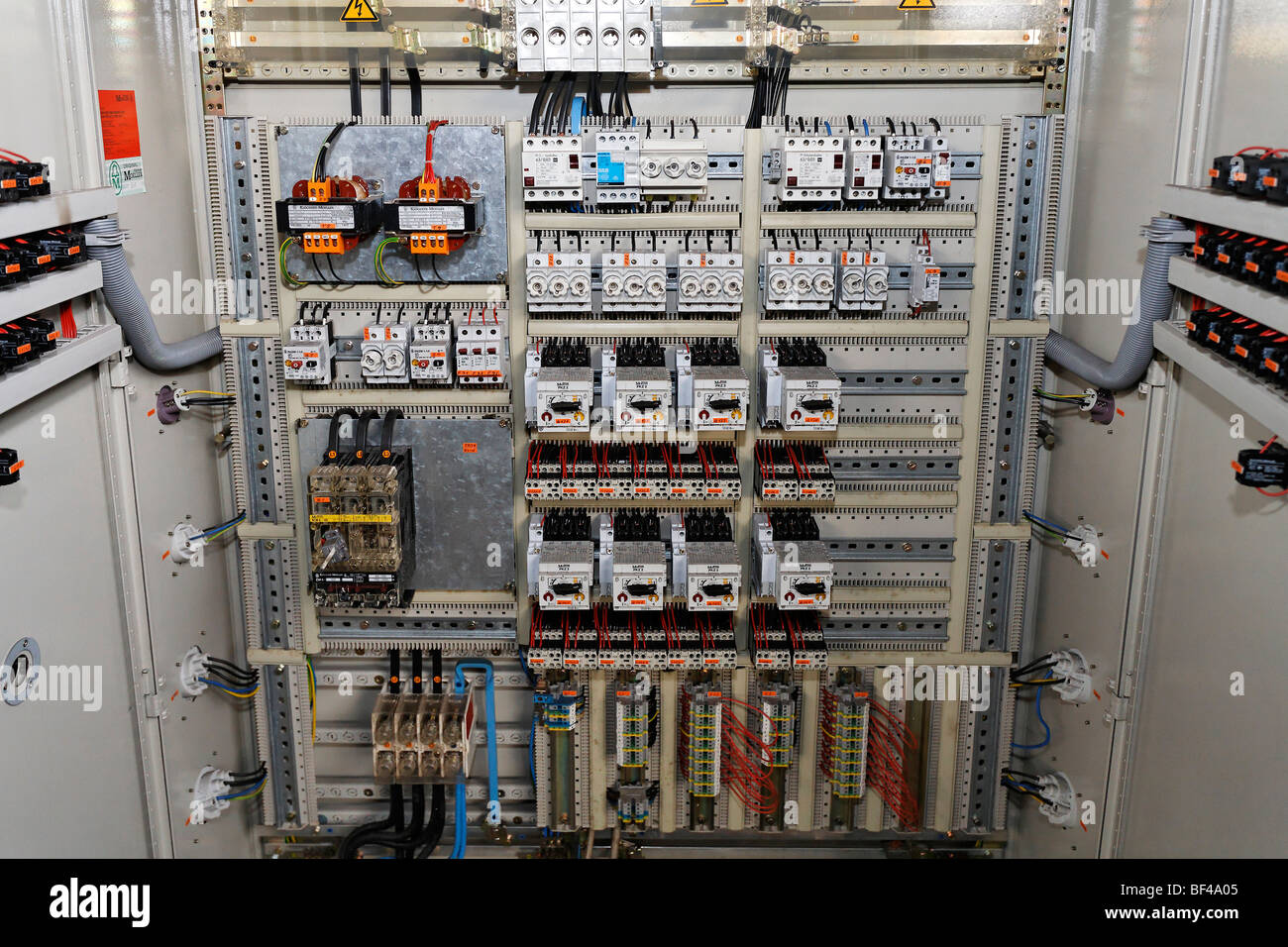 Awesome Fuse Box Electric Control Room In A Disused Factory Building Largest Home Design Picture Inspirations Pitcheantrous