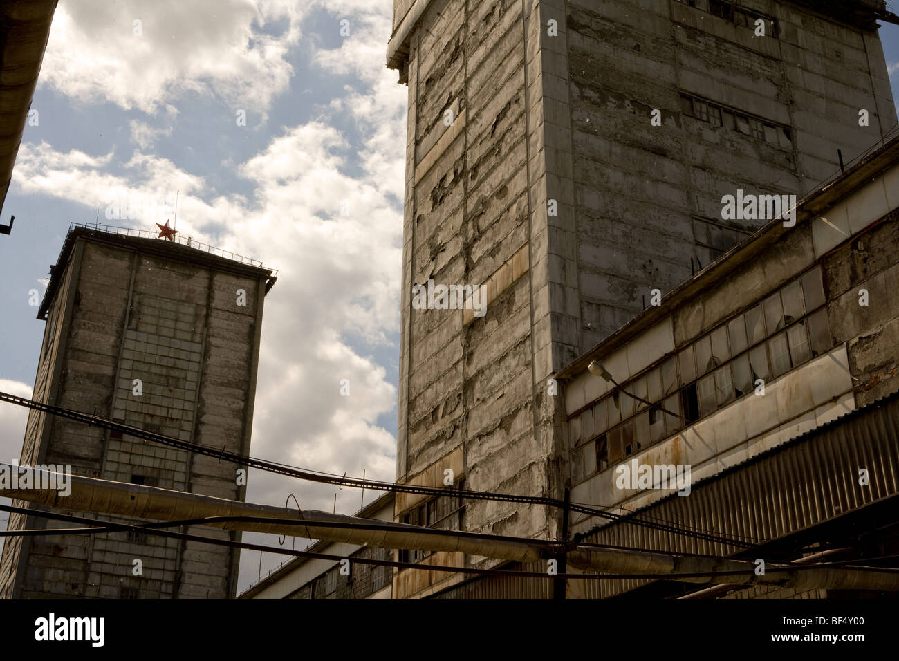 abandoned factory tagil urals russia Stock Photo, Royalty Free Image ... for Abandoned Factory Russia  66pct