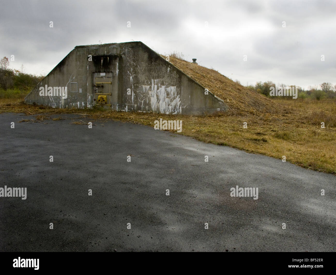 Seneca Army Depot Ny Usa Stock Photo Royalty Free Image