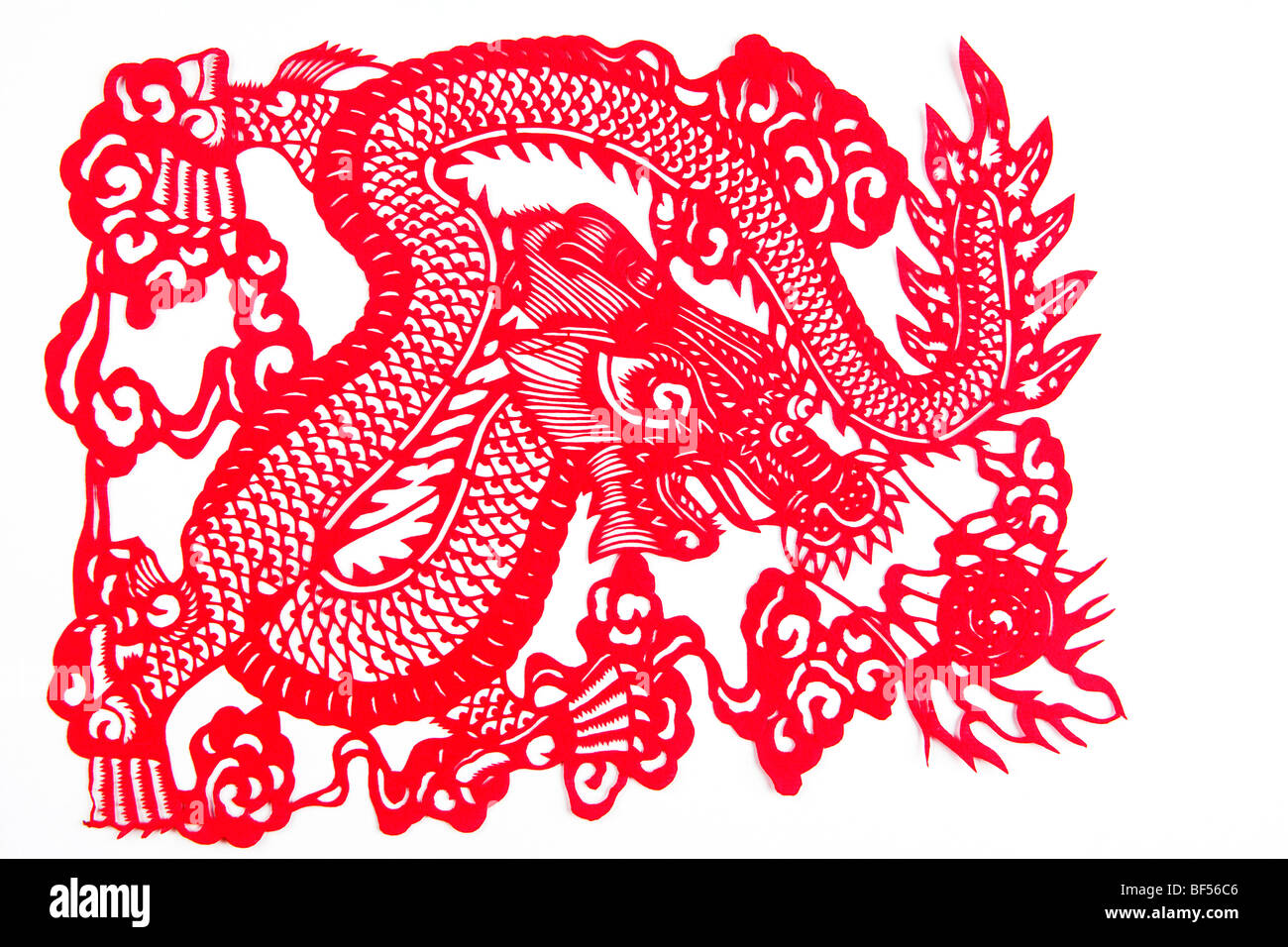 Dragon patterns of chinese paper cutting beijing china for Chinese paper cutting templates dragon