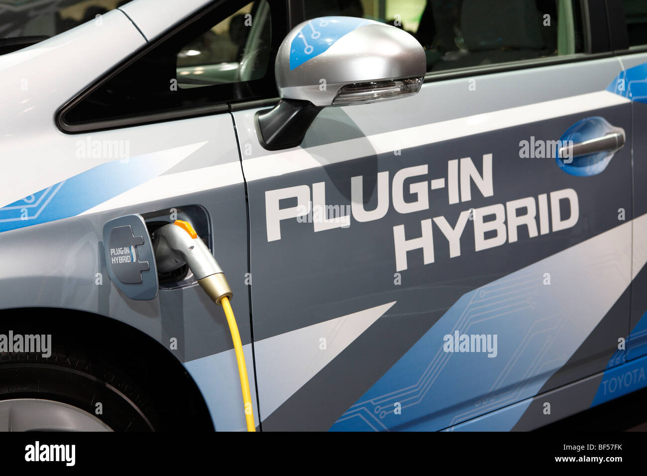 a plug in hybrid electric vehicle phev stock photo 26545895 alamy. Black Bedroom Furniture Sets. Home Design Ideas