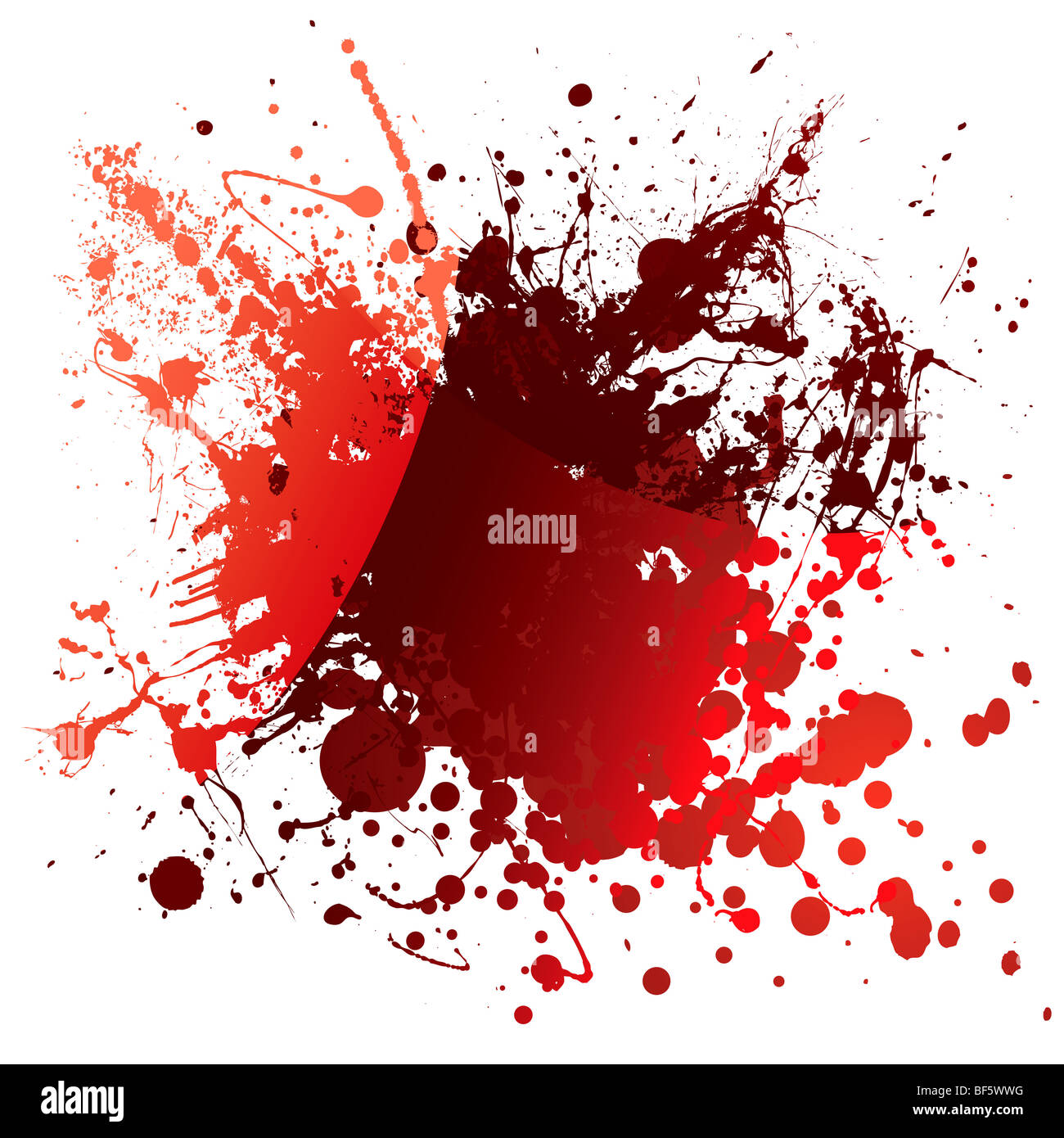 abstract red blood background with light reflection and