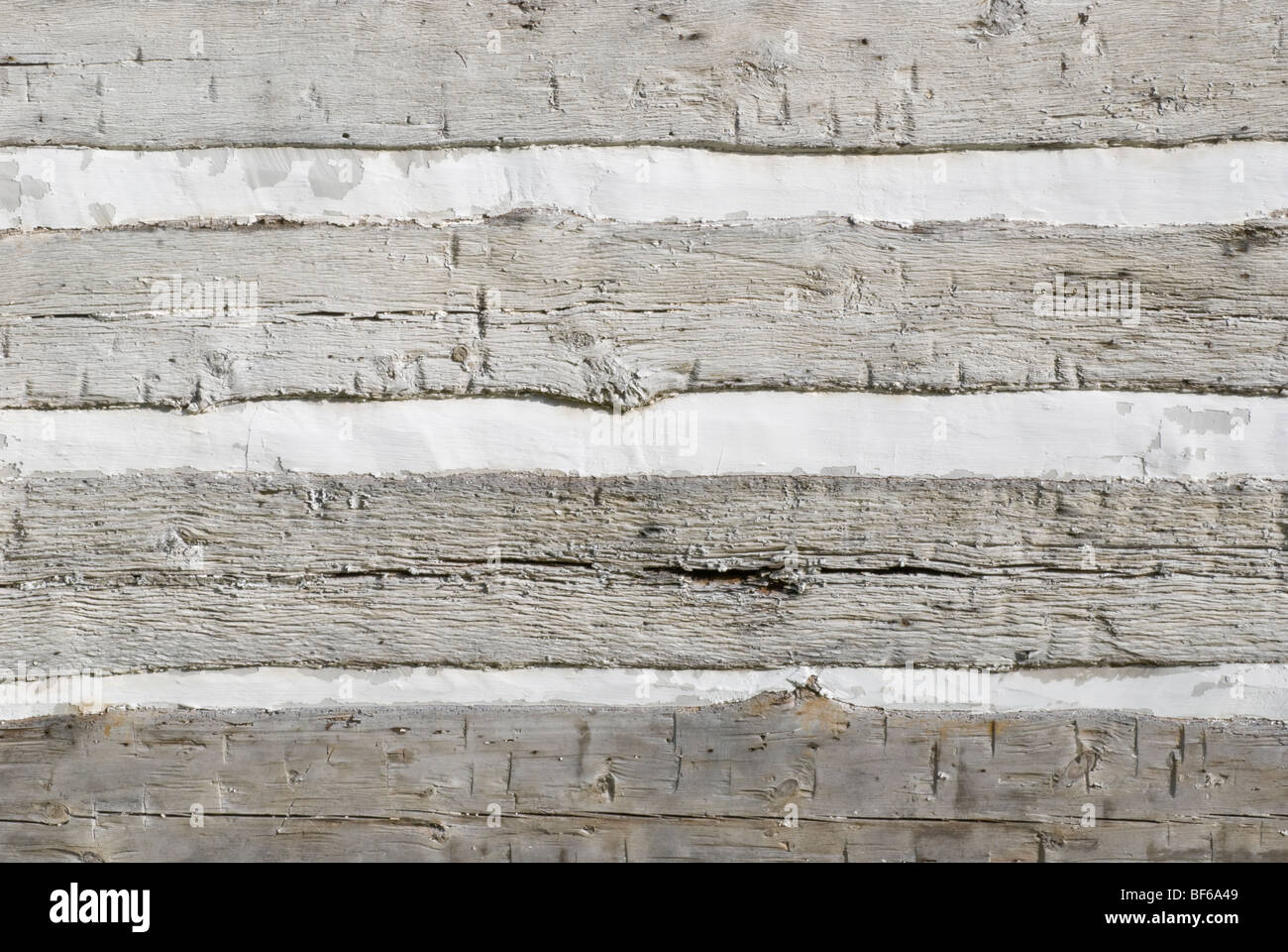 Stock Photo Of Log Cabin Exterior Wall Showing Siding Made