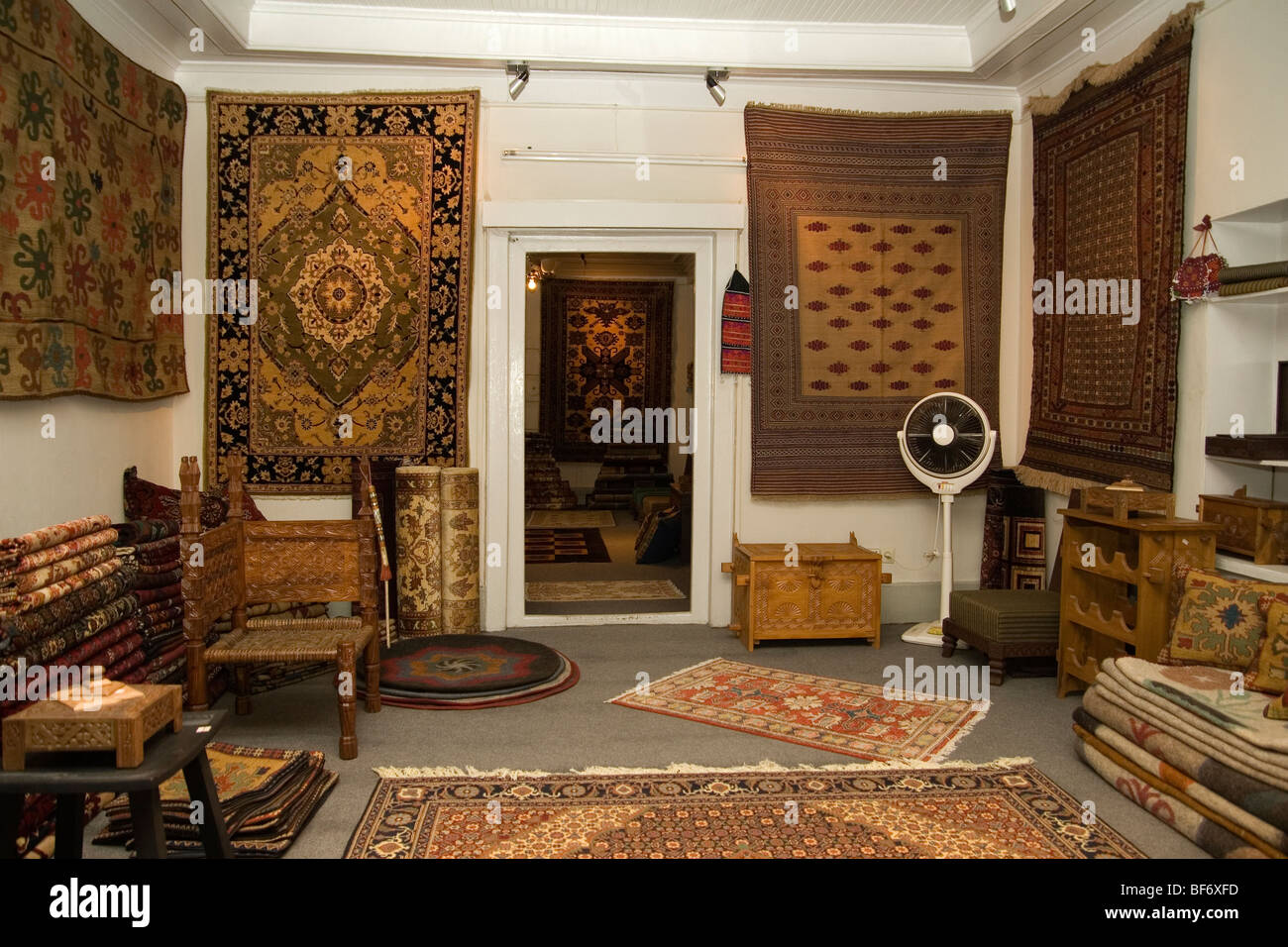 designer boutique selling interior designs in soft furnishing and stock photo royalty free