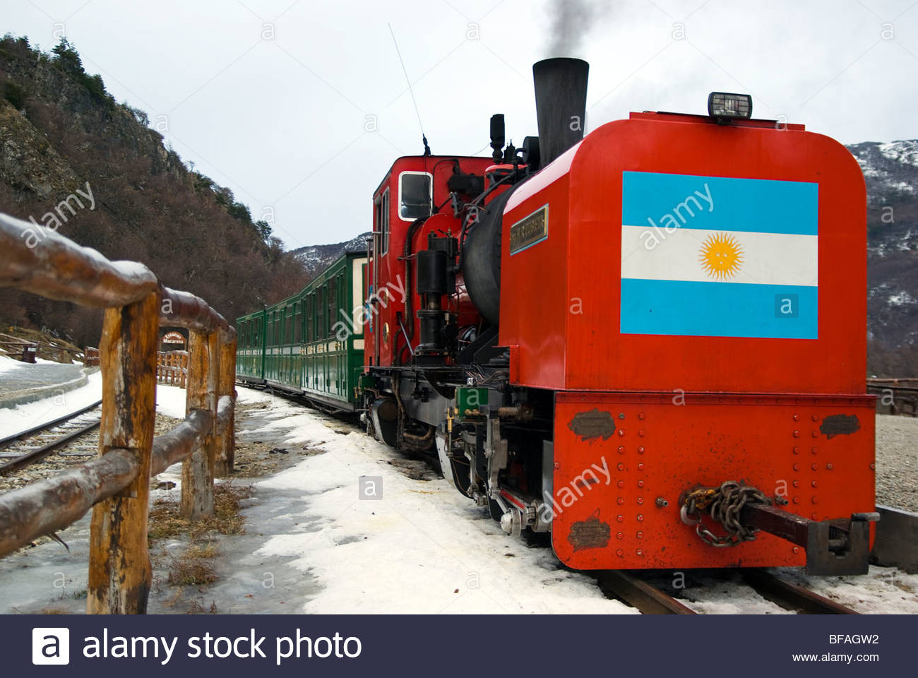 The Southern Fuegian Railway or the End of the World Train ...