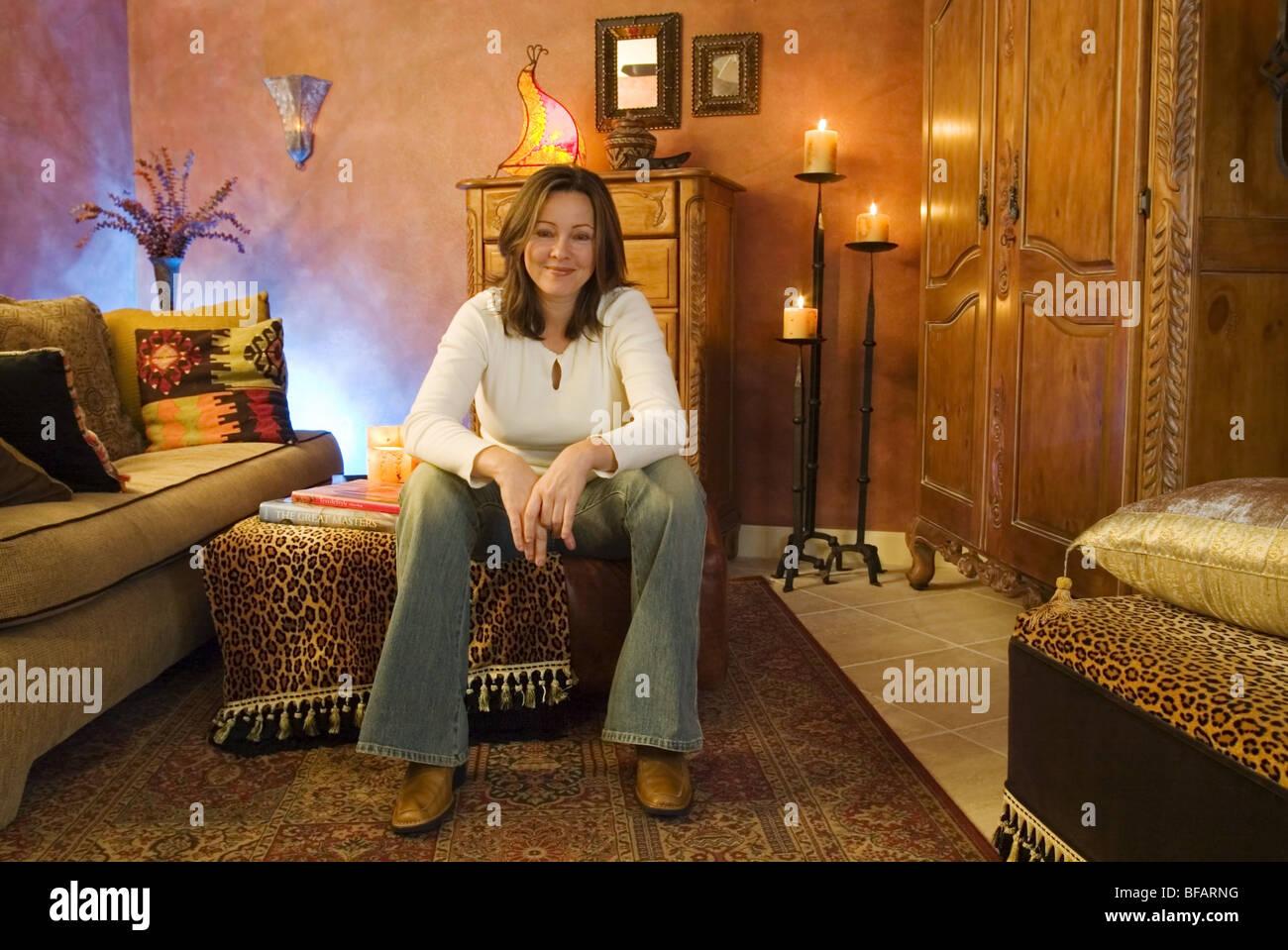 Stock Photo   Young Interior Designer, Portrait, Direct To Camera