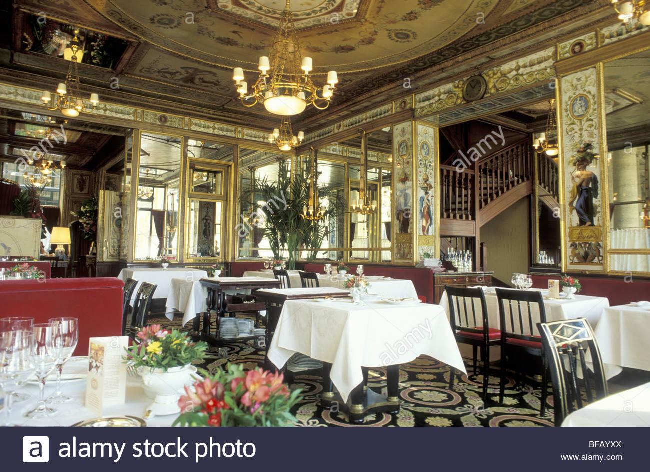 paris palais royal restaurant grand vefour stock photo royalty free image 26671650 alamy. Black Bedroom Furniture Sets. Home Design Ideas