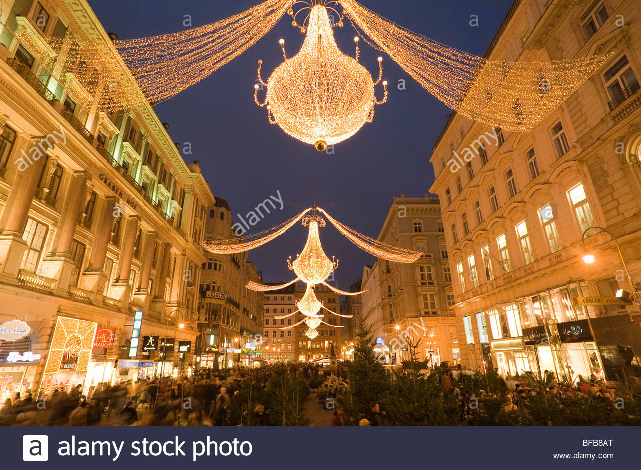 wien weihnachten am graben vienna downtown christmas. Black Bedroom Furniture Sets. Home Design Ideas