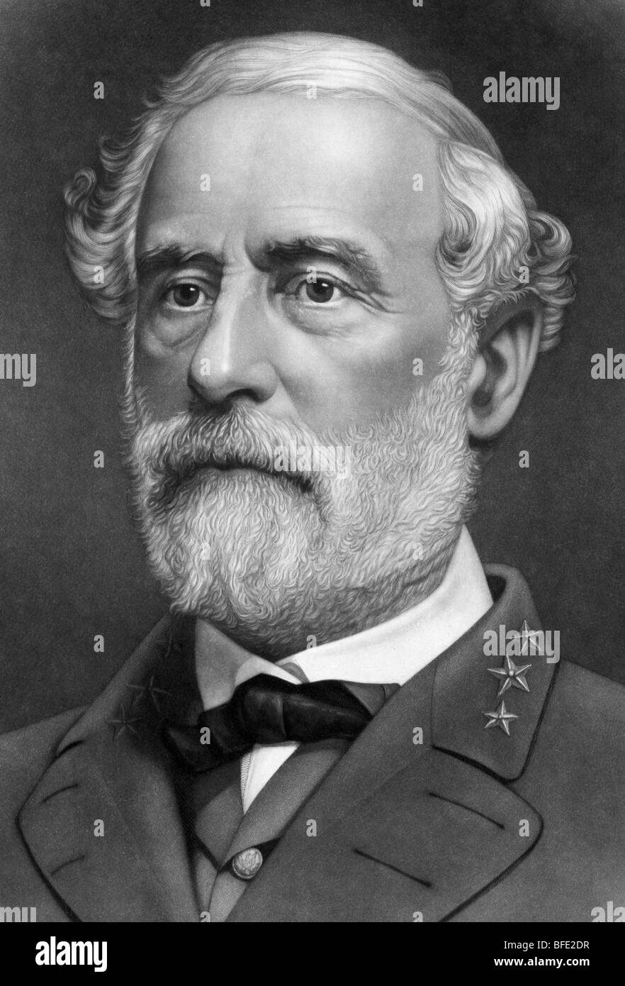 a biography of robert e lee a confederate general Robert edward lee general in chief of the confederate armies in the american civil war, robert edward lee (1807-1870) displayed strategic sense and tactical skill.