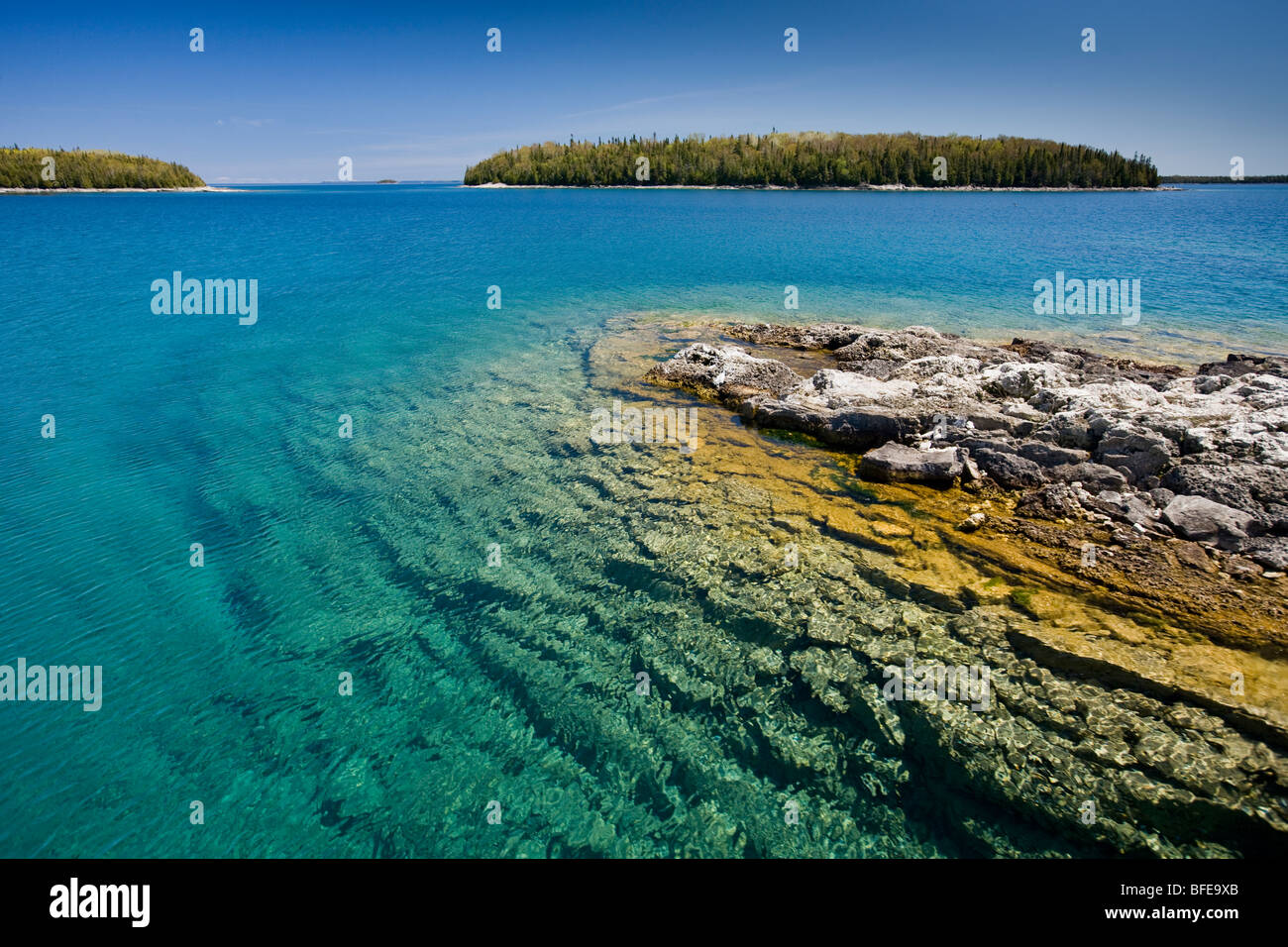 Small island in the fathom five national marine park lake huron small island in the fathom five national marine park lake huron ontario canada sciox Gallery