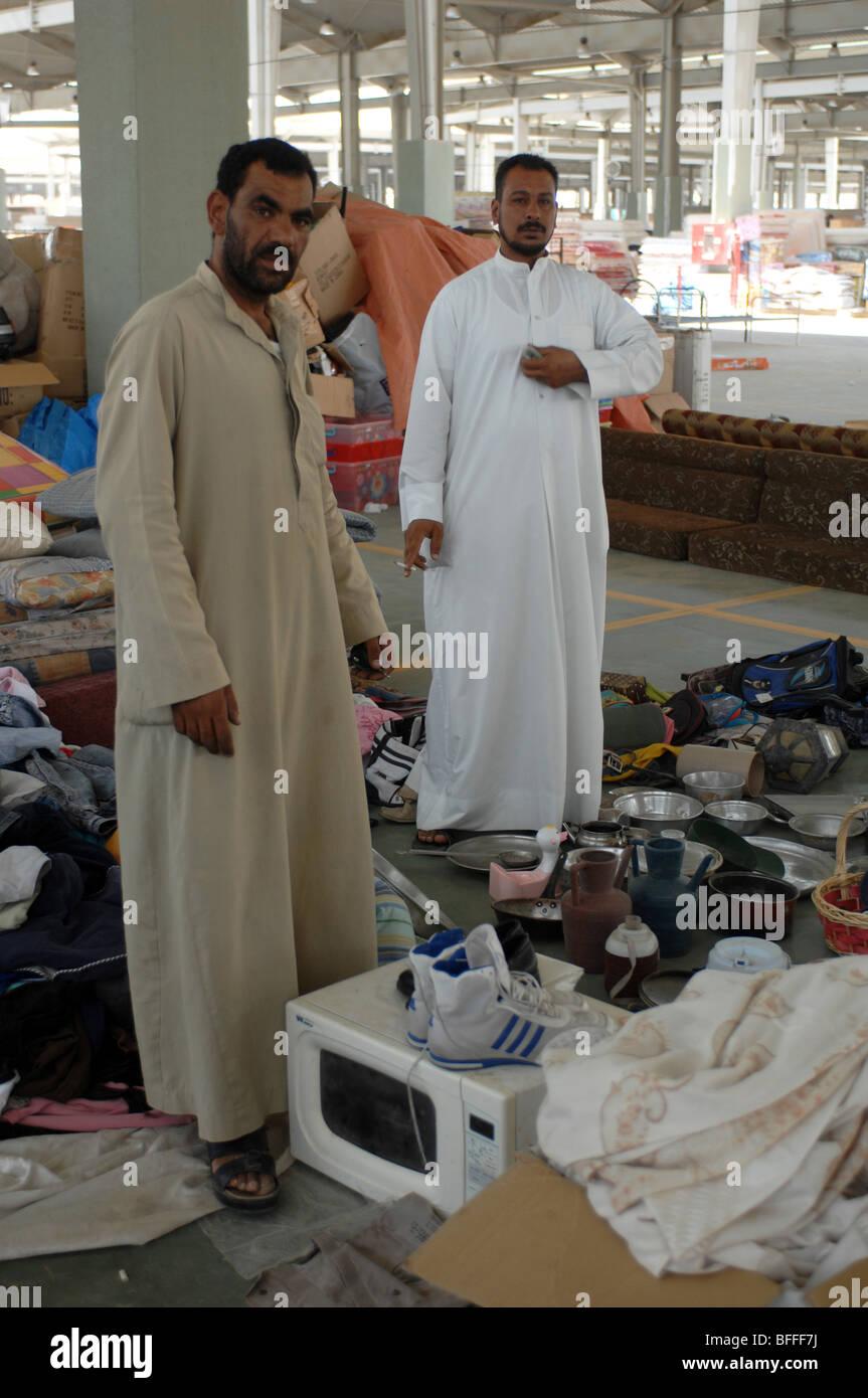 Two Furniture Traders, Friday Market, Kuwait City, Kuwait