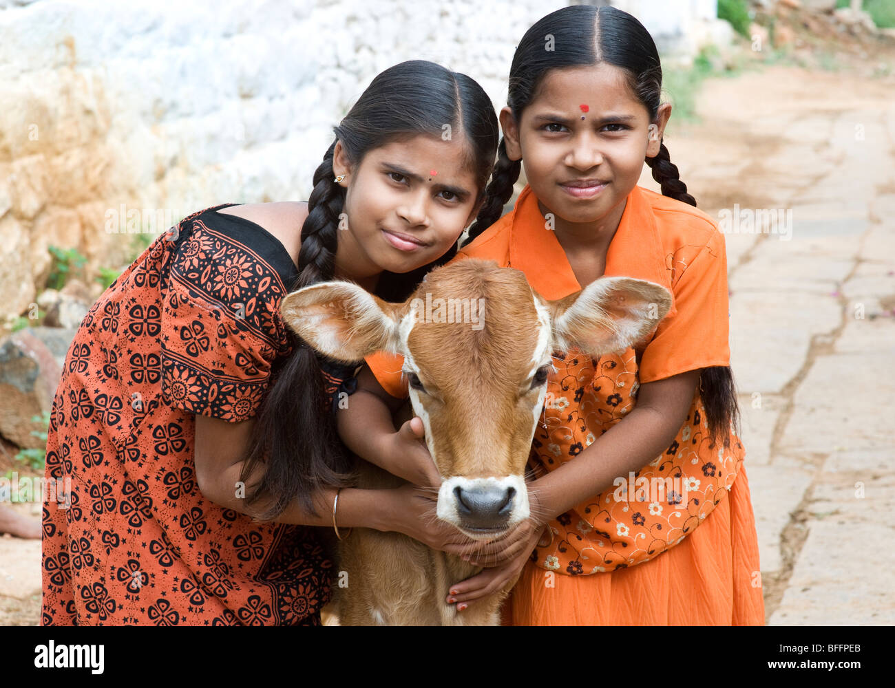 Very young indian village girls
