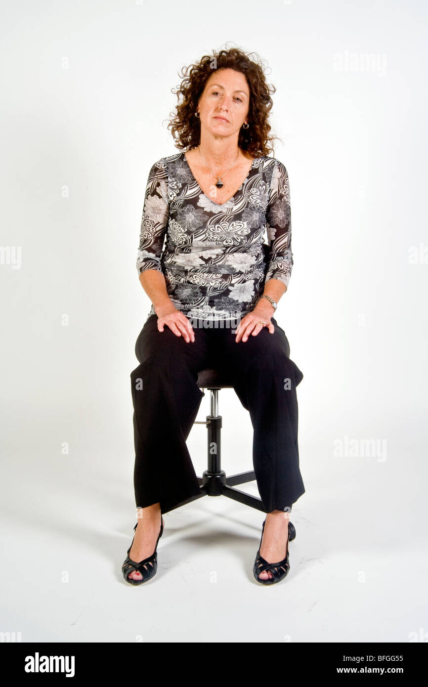 Body Language Woman Sitting With Legs Open