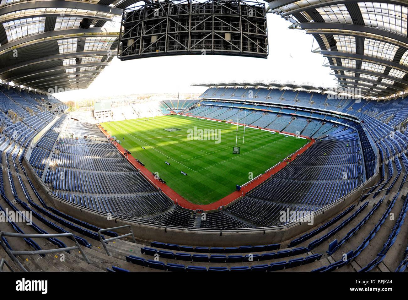 View Inside Croke Park Stadium Dublin Home Of The Gaelic