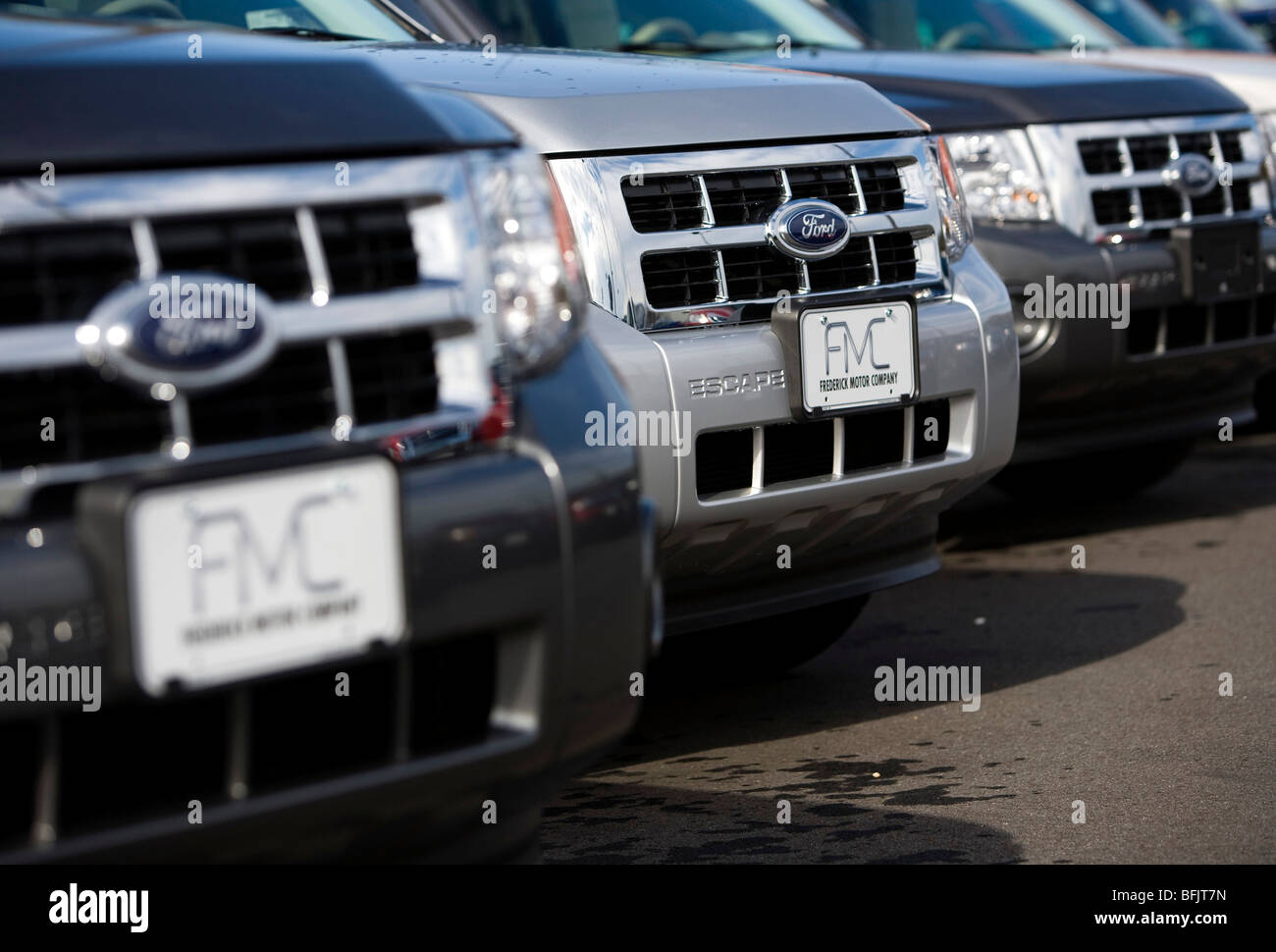 ford dealership in suburban maryland stock photo royalty free image. Cars Review. Best American Auto & Cars Review