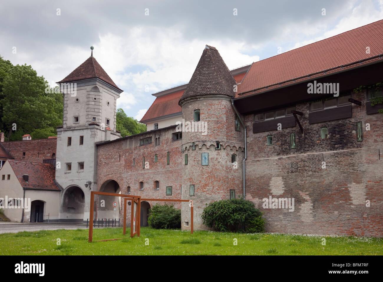 Landsberg am lech bavaria germany sandauer tor entrance - Landsberg mobel ...