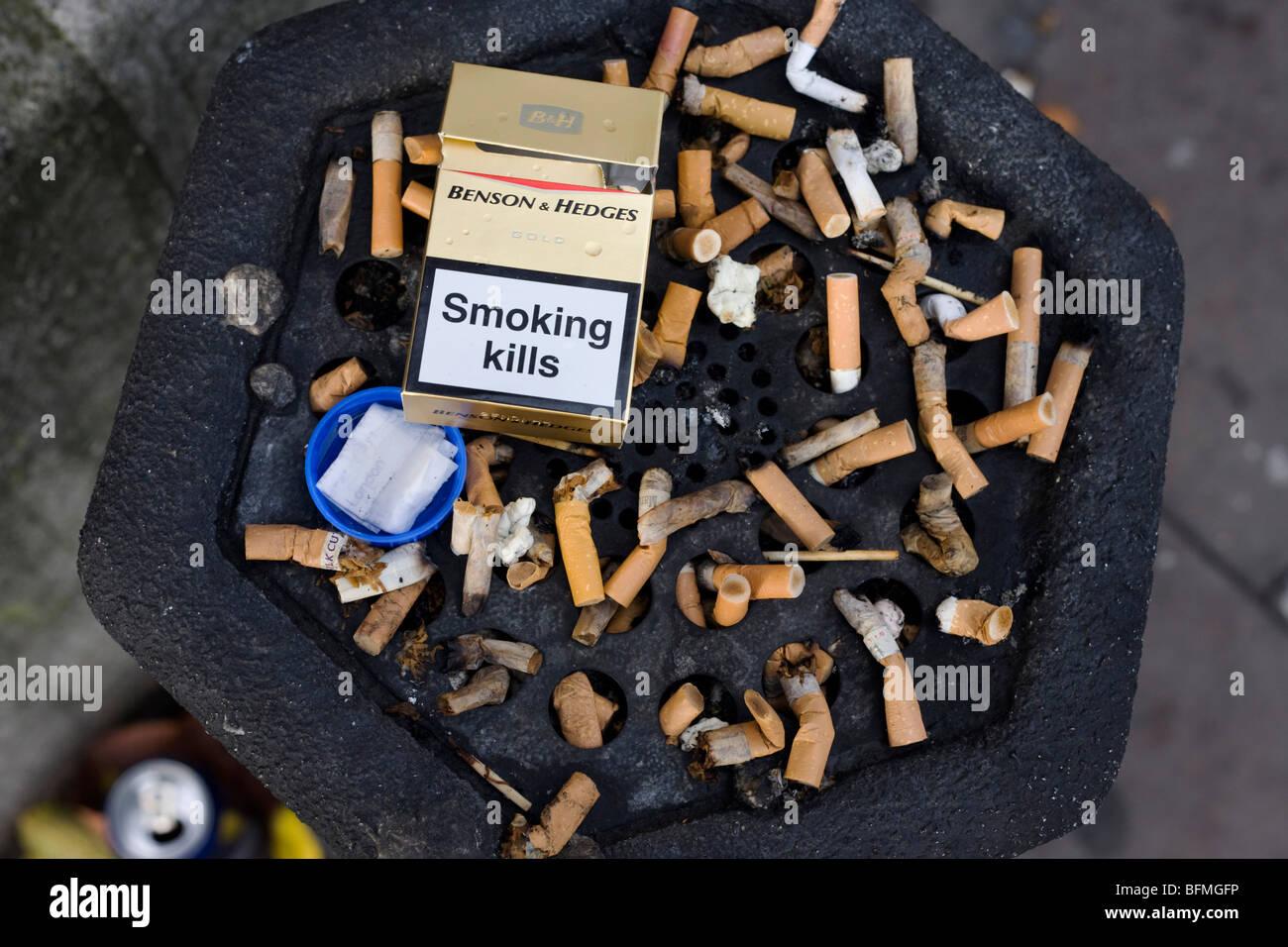 Cigarettes Marlboro compared to cigarettes